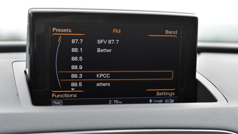 车载收音机依然盛行