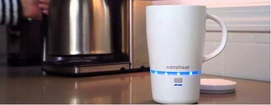 这款杯子可以帮你快速加热咖啡 纳米加热技术