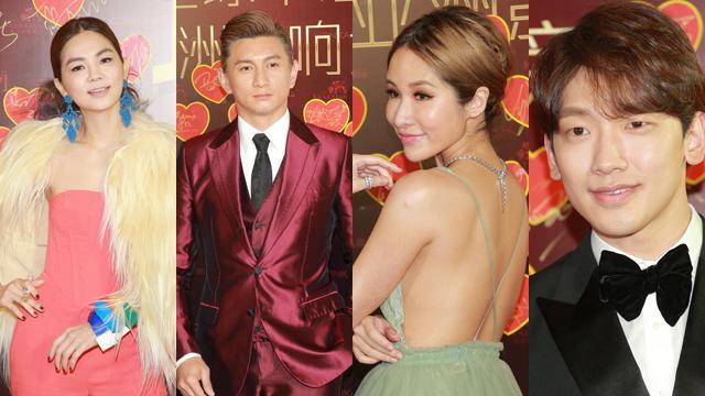 19届华语榜中榜颁奖礼 众星亮相红毯