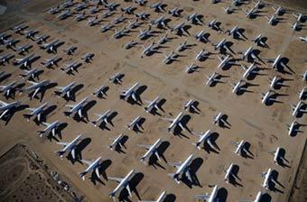 美国除了军机坟场还有客机坟场