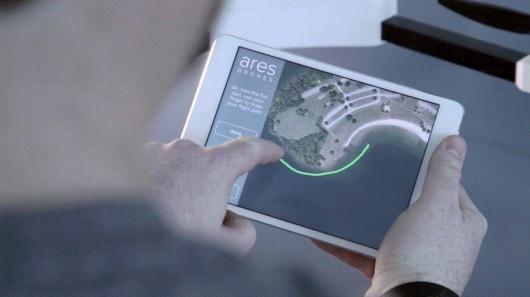 指哪儿飞哪儿!Ares无人机可沿手绘路径飞行