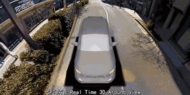 实时三维视角技术问世 可彻底消除驾驶盲点