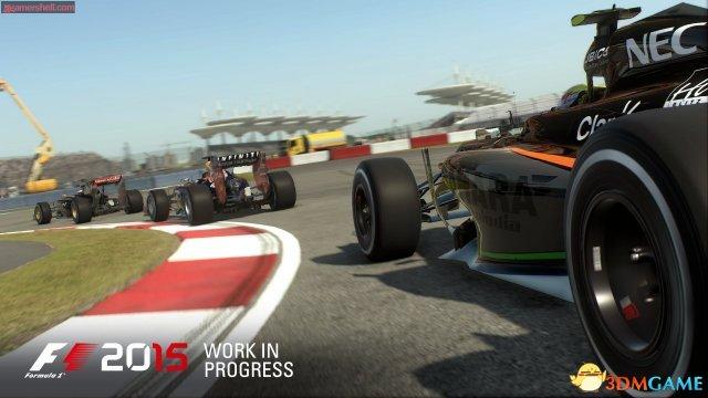 《F1 2015》公布最新游戏截图 确认今年6月发售