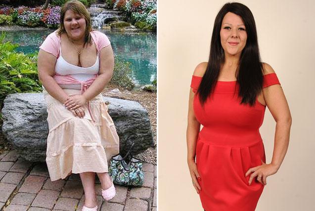 英女子为结婚狂减102公斤 大胖妞变美女