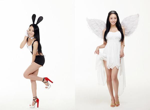 韩国架子鼓美女爆红 曾代言成人网游拍写真