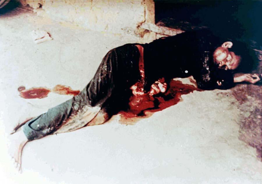 越南战争美莱大屠残酷暴行组图 历史频道