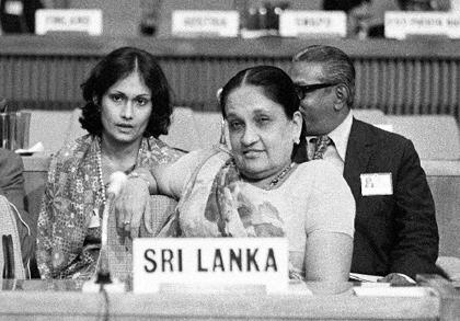 1960年,世界迎来首位女总理