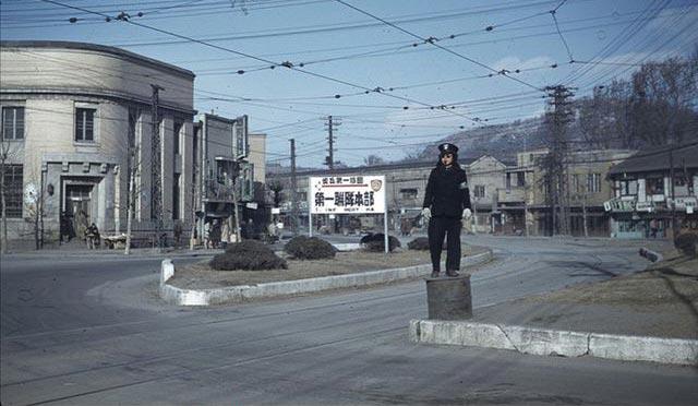 1949年朝鲜战争爆发前的汉城彩照