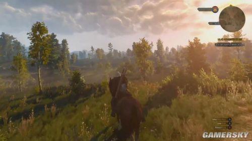 《巫师3:狂猎》PC版演示曝光!乐于助人好白狼