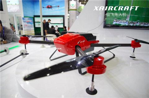 极飞农业无人机:将革新中国农业生产方式