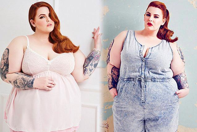 美226斤时尚胖女孩签约公司圆模特梦