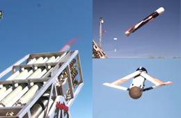 无人机齐射:美军研发无人机集群发射技术