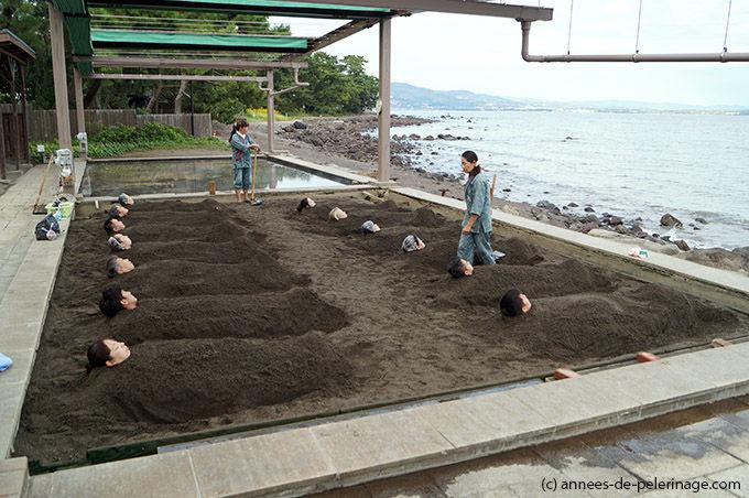 日本兴起沙疗 体验者享用后称惬意无比 资讯 第1张