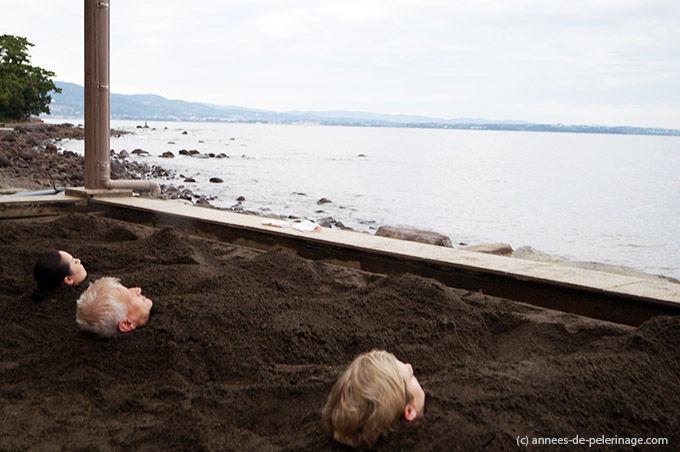 日本兴起沙疗 体验者享用后称惬意无比 资讯 第2张
