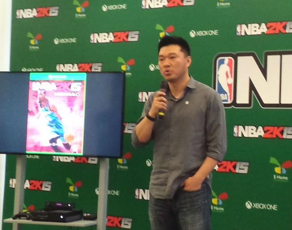国行NBA 2K15 4月30日登陆XBOX One 售¥249