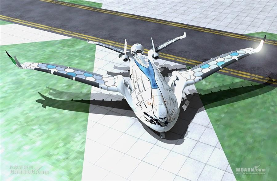 """继""""天空鲸鱼""""后""""进击雄鹰""""未来概念飞机来袭"""