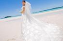 郑洁微博秀婚纱照:八年多了一直没有拍