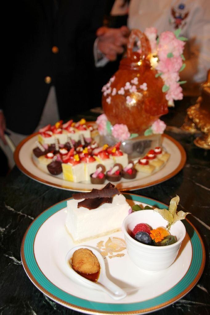 安倍访白宫晚宴菜单出炉 兼具美日特色颇显诚意