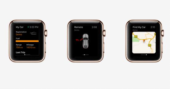 保时捷发布其苹果手表app 显示界面优化