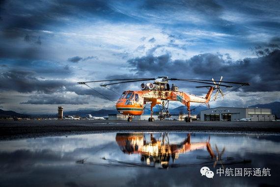美军CH-54重型直升机民用版今年进入中国市场