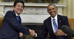 日本首相安倍晋三8天超长访美之行
