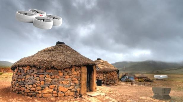 美公司造新型运输无人机 可在雨天大风天气飞行