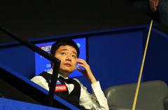 丁俊晖:我打得不错 只是还没到能夺冠的水平
