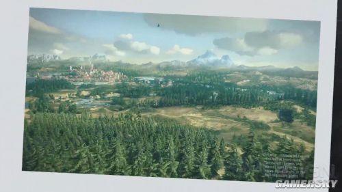 《巫师3:狂猎》世界预告 飒爽白狼驰骋世界