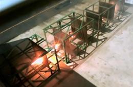 电磁炮测试画面曝光 一发击穿8块钢板