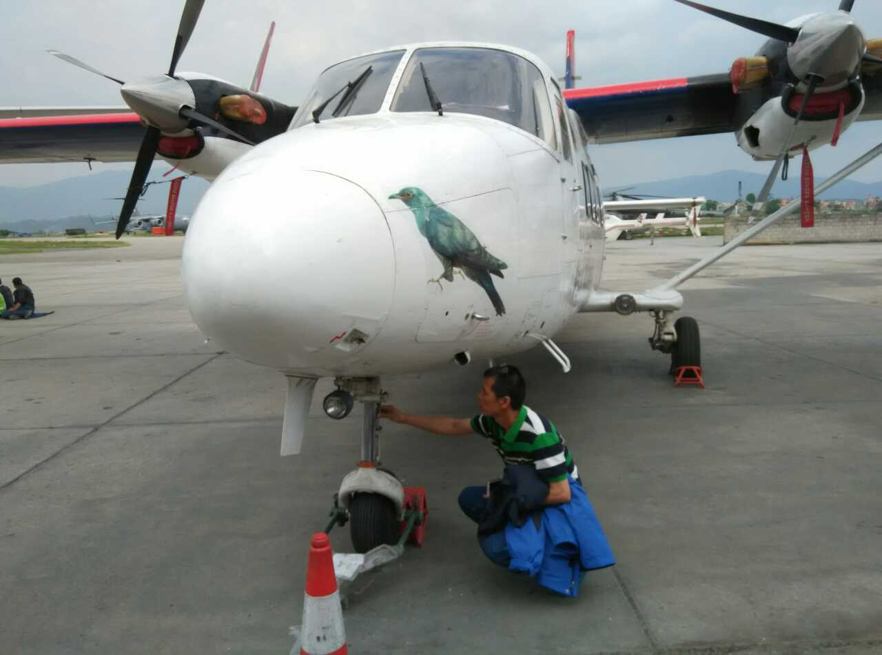 中航驻尼泊尔工作人员震后放弃回国 继续坚守岗位