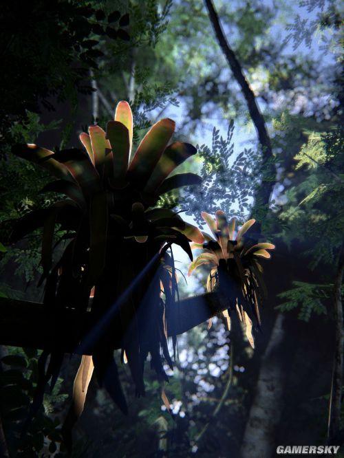 虚幻4打造逼真热带雨林 颇似《孤岛危机》