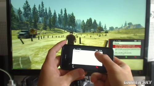 《GTA5》竟然能用iPhone控制 技术宅拯救世界