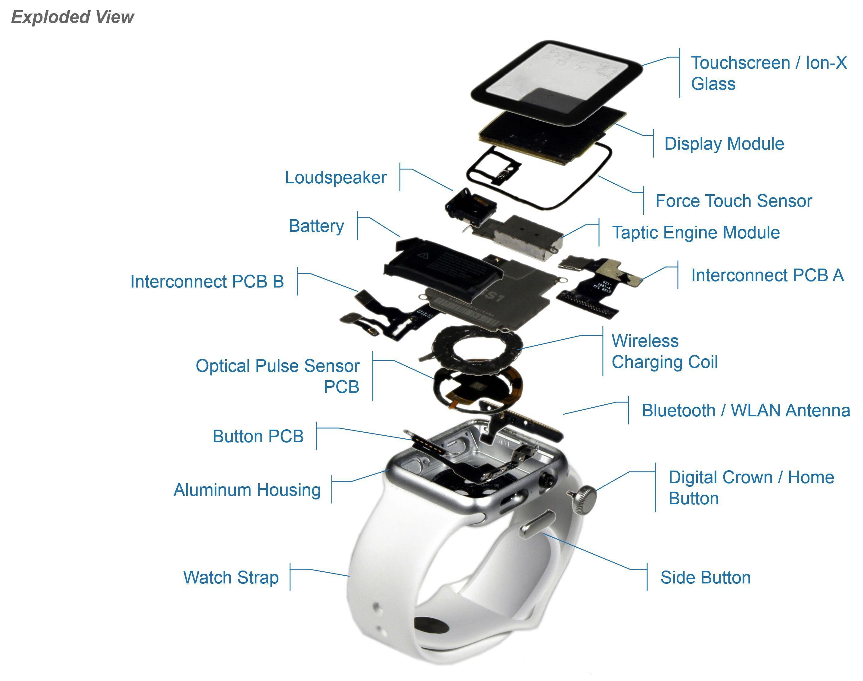 Apple Watch 运动版零件成本只有84美元