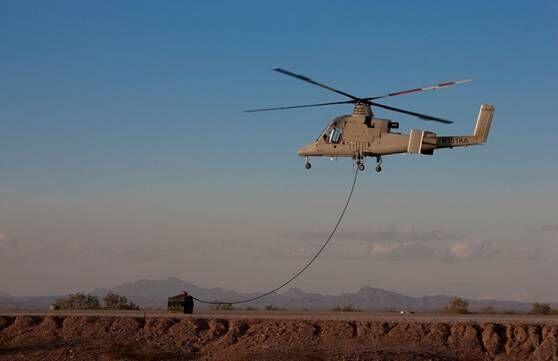 美巨头研无人直升机 可将伤员快速救援避免伤亡