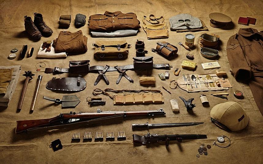从1066到2014人类士兵装备演变(组图)
