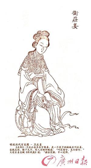 春秋时美女标准须有超模范:修长、高大、白皙