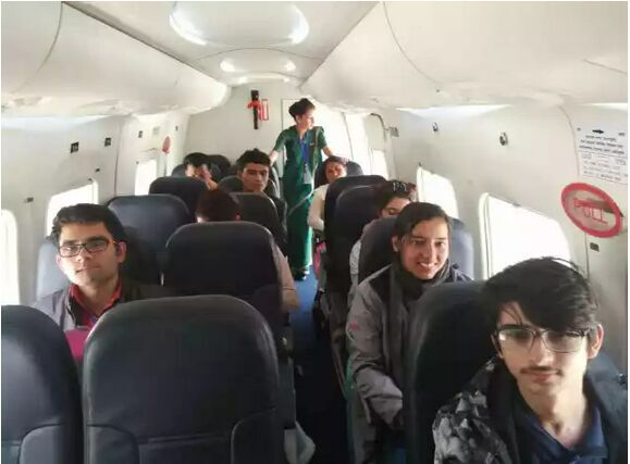 新舟60在尼泊尔震后已运送灾民旅客1200余人