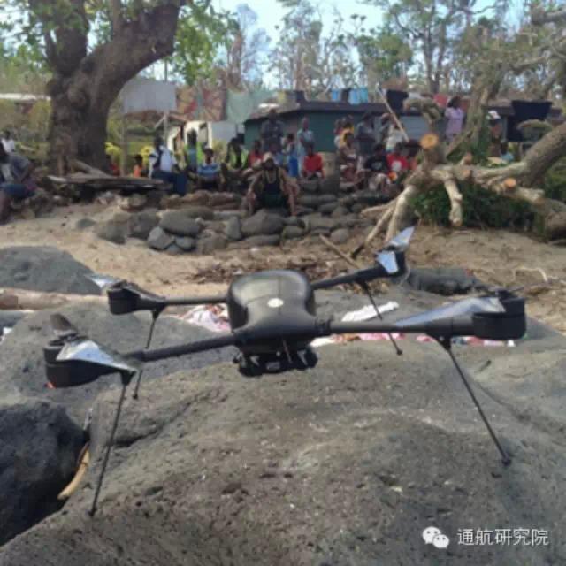 洛马Indago无人机在南太飓风受灾区评估损失