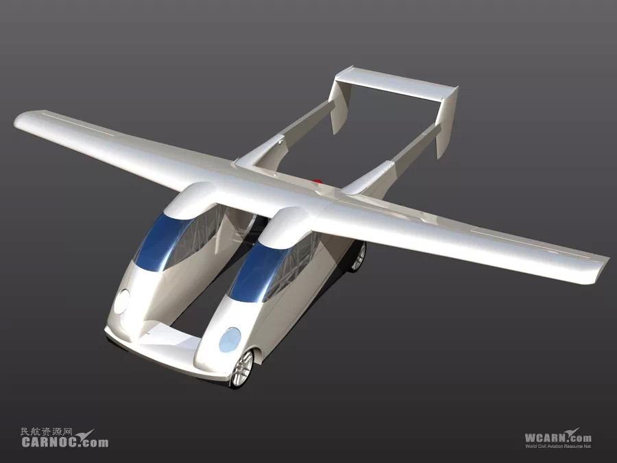 Carplane:像汽车一样停在车位上的私人飞机
