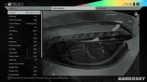 《赛车计划》PC画质选项曝光 显卡杀手诞生