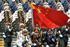 中国三军仪仗队