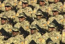 俄罗斯阅兵地面徒步方队
