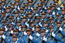 塞尔维亚受检阅部队