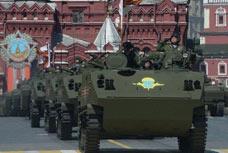 """改进型""""贝壳""""式多目标陆战装甲运输车"""