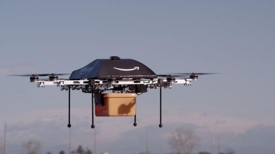 亚马逊想用无人机追踪客户 借手机摄像头着陆