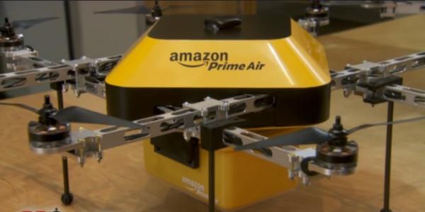 亚马逊快递无人机细节曝光:或具极强避障能力