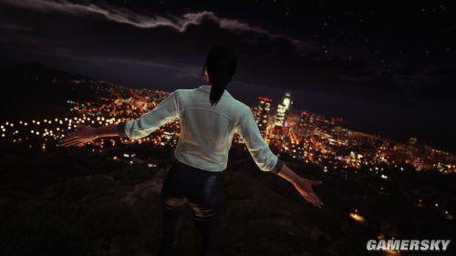 《GTA5》玩家特效摄影情迷洛城 幻想皆成真