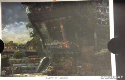 《使命召唤12》新画面萧条世界 男一号登场?