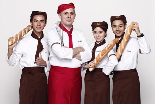 欧米奇西点教育首亮相,引爆上海国际烘焙展