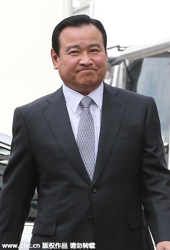 韩国前总理李完九被检方传唤调查...